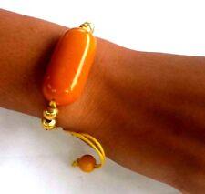 Bracelet, Adjustable Yellow Bracelet Ladies Fashionable Tagua Nut