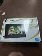 Preowned GiiNii 7 Inch Led Digital Picture Frame Used Maybe Twice