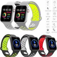 Bluetooth Smartwatch Armband Pulsuhr Sportuhr Schrittzähler für Android Handy
