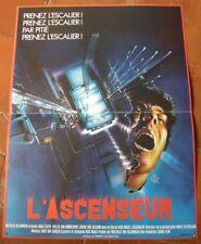 L'ASCENSEUR (AFFICHE CINEMA) HUUB STAPEL WILLEK VAN AMMELROOY DICK MAAS