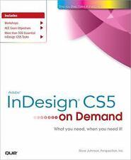 Adobe InDesign CS5 on Demand-ExLibrary