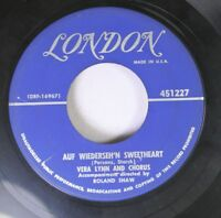 Pop 45 Vera Lynn And Chorus - Auf Wiederseh'N Sweetheart / From The Time You Say