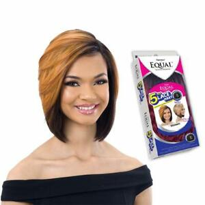 Freetress Equal 5 Inch Lace Part Wig Short Straight Synthetic Hair - Vashanti