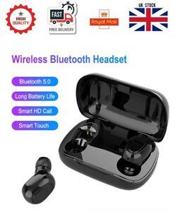 TWS Wireless Earphones Bluetooth Headphones Earbuds in-ear For iPhone Samsung