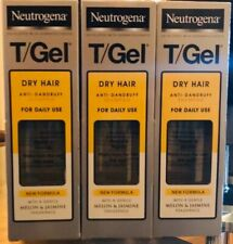 X3 Neutrogena T-Gel Dry Hair Anti-Dandruff Shampoo - 125ml