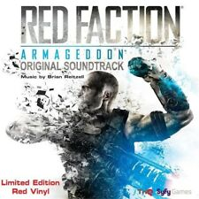 Red Faction Armageddon by Brian Reitzell Limited Edition Red Vinyl LP Record NEW