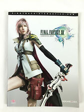 Final Fantasy XIII 13 / Le Guide Officiel Complet / Xbox 360, PS3