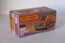 Repro Box Matchbox Superfast Nr.68 Chevrolet Van