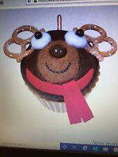 Christmas Cupcakes Sweet Reindeer Treat Ornament Hallmark limited edition ornama