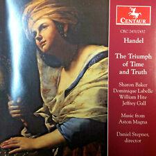 Handel The Triumph of Truth & Time Aston Magna Daniel Stepner (2Cd Centaur 1999)