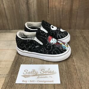 Vans Classic Slip On Nightmare Before Christmas Sneakers Toddler Size 5