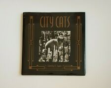 "Vintage City Cats Hardback Book Cat Photos B&W Photography 7 3/4"" J C Suares"
