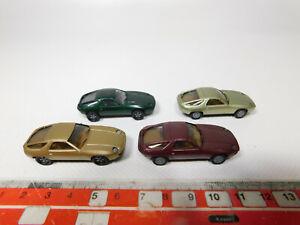 AF161-0, 5 #4x Herpa H0 1:87 Car Model Porsche 928, Mint