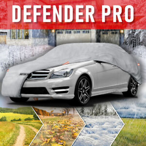 Multi-Layer Waterproof Car Cover for Auto Sedan All Weather High Quality Fits S