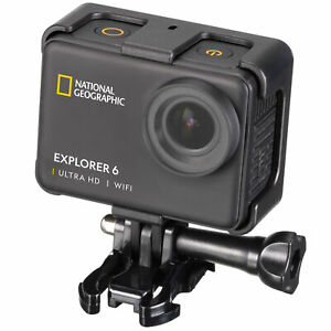 NATIONAL GEOGRAPHIC 4K Ultra-HD 60fps WLAN Action Cam Explorer 6