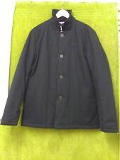 NEW  -  LAMBRETTA  1947  -  Men's   Black Quilted Collared Coat  -  M  -  44 ..