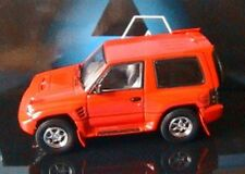 MITSUBISHI PAJERO EVO RED AUTOART 57203 1/43 ROSSO ROT MODEL CAR SCALE 1:43 1998