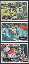 1966 TOPPS BATMAN BLACK BAT CARDS FULL SET 44/44