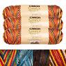 3pk Caron Simply Soft Paints 100% Acrylic Yarn Medium #4 Knit Crochet Skein Soft