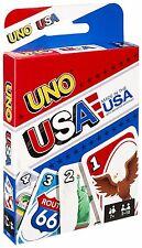 Uno Card Game - USA Themed  - Made in USA - Brand New