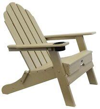 Atlas - Beach Haven Poly Adirondack Folding Chair - Color: Sand