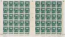 TIMBRES FRANCE 1946/55 TAXE Demi FEUILLES de 50 n°88  NEUF** COTE 1451€ SUPERBE