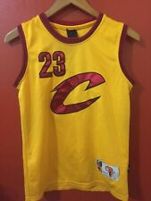 Airspeed Yellow Maroon Kid's Basketball Jersey Size Large