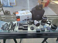 Sony Alpha NEX-5N 16.1MP Digital Camera Zoom Lens Kit 18-55mm f/3.5-5.6 Silver