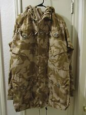 Used UK British Combat Desert DP WindProof Smock/Jacket! Size 190/96.