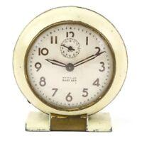 Vintage WESTCLOX 1950's Baby Ben Desk Clock Style 5 Art Deco Wind Up Old parts