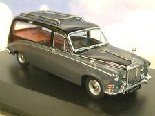 Oxford Diecast 1/43 Daimler DS420 Funerale CARRO FUNEBRE in Nero & Grigio Carlton DS008