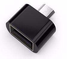 ADATTATORE OTG MICRO USB  A USB 2.0 PER SAMSUNG ANDROID PHONE TABLET