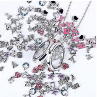 10/20/50/100PCSCute Floating Charming for Glass Living Memory Locket DIY