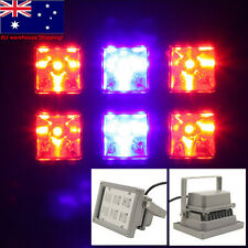 12W LED Grow Light Outdoor Growing Hydroponic Flowering Plant Floodlight Lamp AU