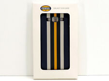 Fossil Galaxy S3 Parker Cell Phone Case Cover Navy Blue Stripe New In Box!