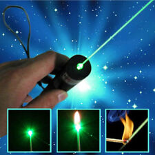 20Miles Green Laser Pen 532nm Visible Beam Bright Pointer Pet Toy Stock 18650