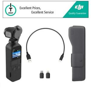 DJI OSMO POCKET – 3 Axis Gimbal Tripod Stabilized Handheld Integrated Camera