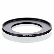 49-72 49mm to 72mm 49mm-72mm Matel Step-up Stepping Up Ring Filter Adapter