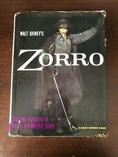 WALT DISNEY'S ZORRO by STEVE FRAZEE - A DAILY MIRROR BOOK - H/B D/W