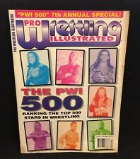 PRO WRESTLING ILLUSTRATED MAGAZINE- PWI 500-7th Annual Special Holiday 97' W112
