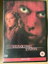 Kelly Overton, James Haven BREAKING DAWN ~ 2006 Thriller UK DVD