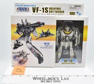 #2 Toynami 1/100 VF-1S Valkyrie transformable figure white/yellow MISB NEW 2006