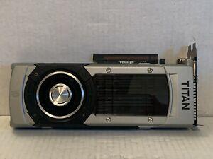 NVIDIA GEFORCE GTX Titan Black 6GB DDR5 Video Card Tested
