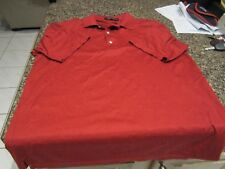 Carnoustie Golf Polo Shirt - Red - Large