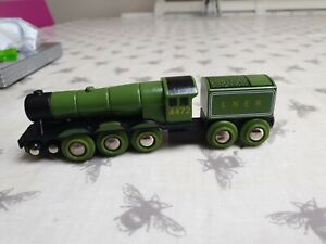 BRIO 33483 Flying Scotsman LNER 4472 Wooden Train and Tender