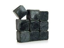 9 Whiskey Stone Soapstone Rocks Beverage Reusable Hot Cold Ice Cubes Spark Sparq