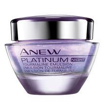 Avon ANEW Platinum Emulsion mit Turmalin für die Nacht 50ml 60+ sehr trockener H