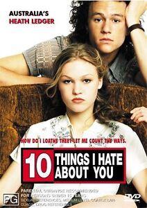 10 Things I Hate About You - Heath Ledger, Julia Stiles..REG 4..NEW & SEALED  V5
