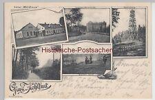(88144) AK Gruss aus Kohlfurt (Węgliniec), Mehrbildkarte 1908