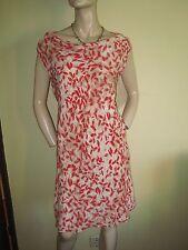 Silk Blend Cowl Neck Floral Dresses for Women